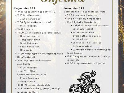 Varsinais-Suomessa järjestetään suuri pyörämatkailualan kehittämisen tapahtuma