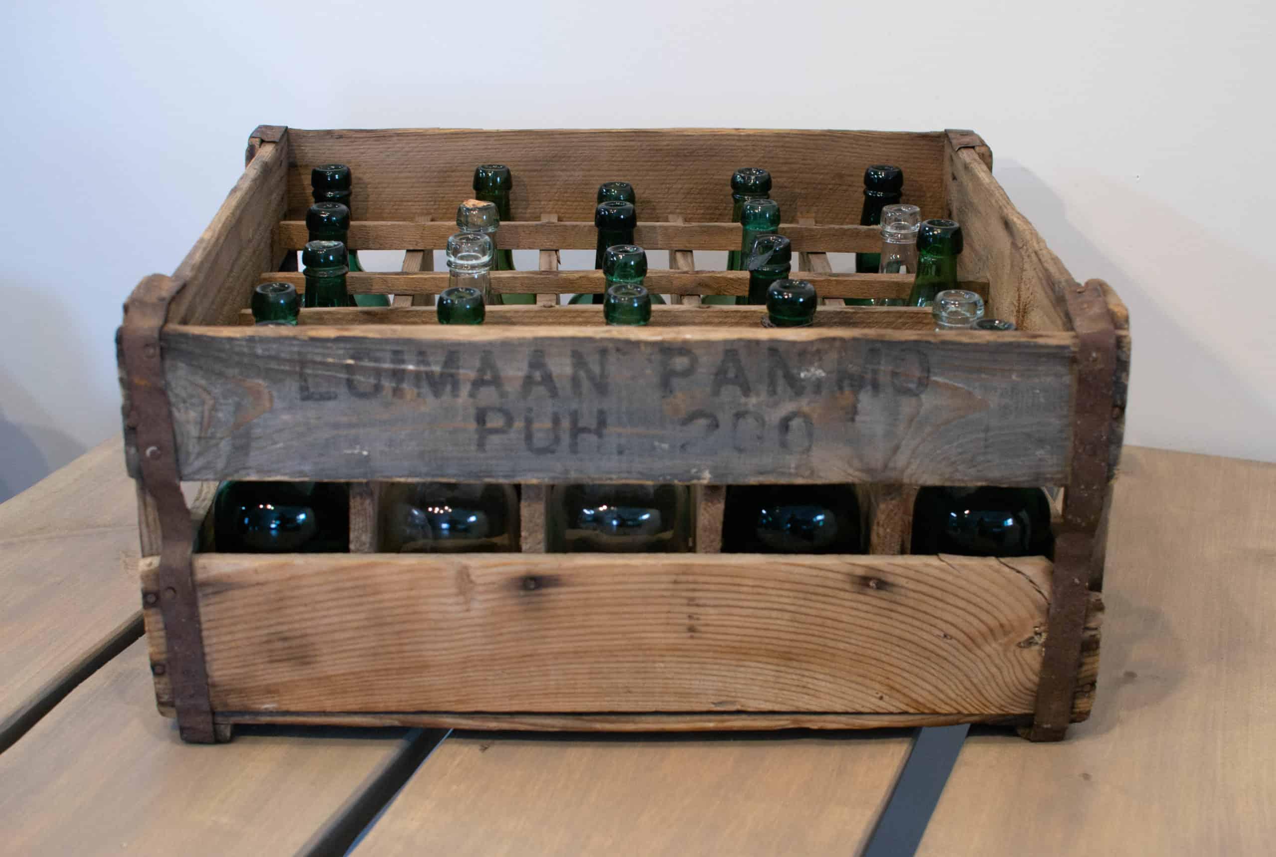 Vanhan Loimaan Panimon puinen olutkori
