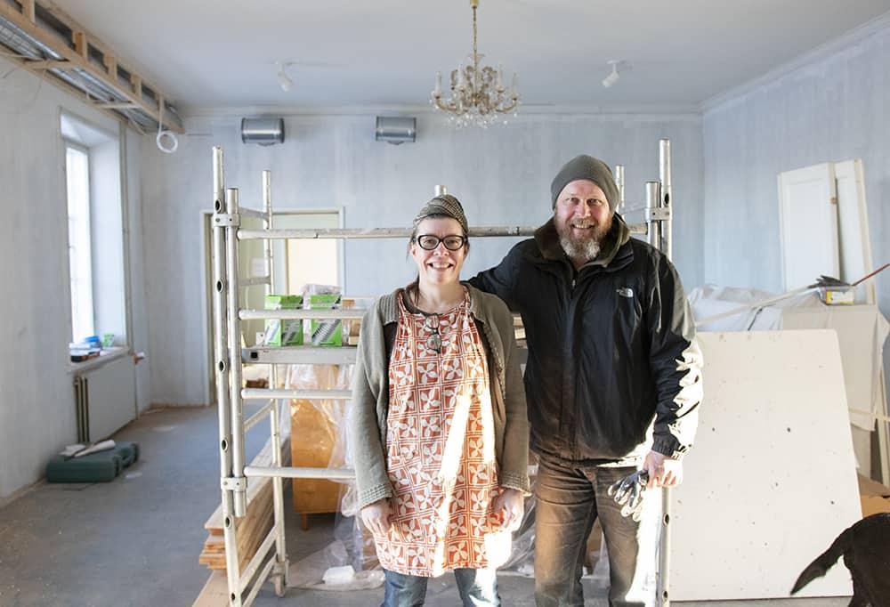 Kyläleipuri remontoi uusia tiloja Ruukinkartanoon – uuteen leipomoon avautuu leipomoravintola