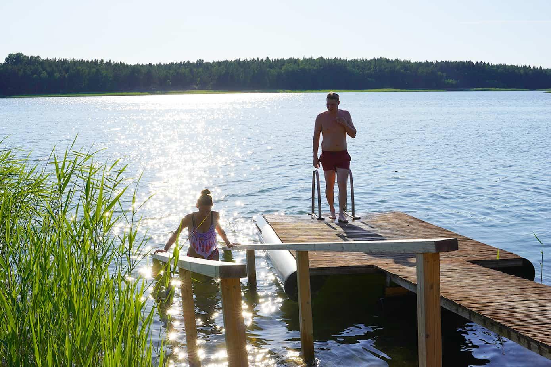 Suomen vanhimman tien varrelle kunnostettiin upea uimapaikka