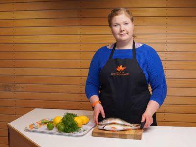 Kuvassa Janita Kylänpää.
