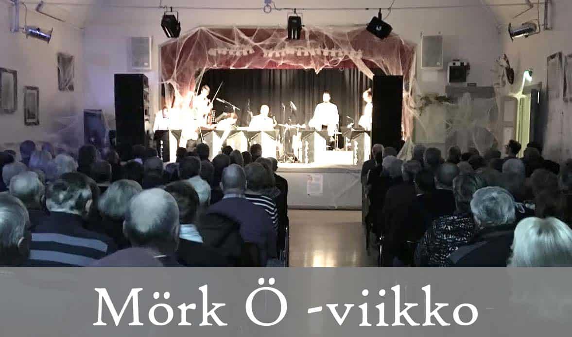 Hankkeella toteutettu Kustavin Mörk Ö -viikko onnistui yli odotusten