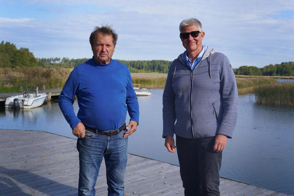 Timo Jokinen och Juha Kääriä.