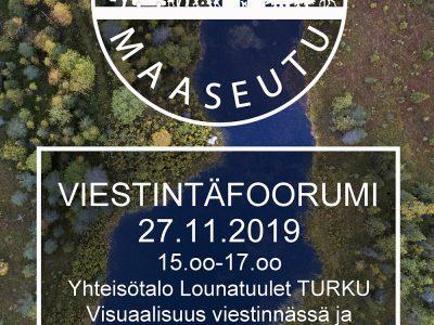 Varsinais-Suomen ensimmäinen Viestintäfoorumi