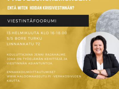 Miten teen onnistuneen palvelukokemuksen? -viestintäfoorumi 13. helmikuuta 2020