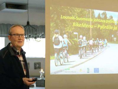 Vauhtia vähähiiliseen pyörämatkailun kehittämiseen -seminaari katsottavissa myös jälkikäteen