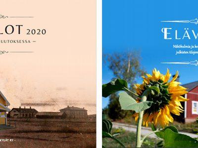 Varsinais-Suomen kylät julkaisi tänä vuonna kaksi kirjaa – Suurennuslasin alla seurantalot ja elävät tilat!