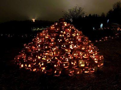 Halikko muuttui halloween-kyläksi
