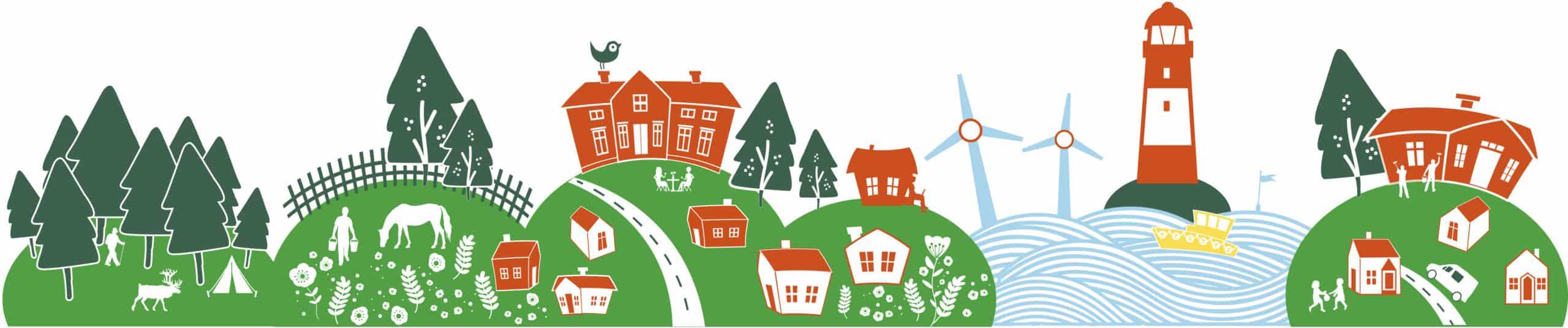 Det behövs mera finansiering för att landsbygdsutveckling på gräsrotsnivå!