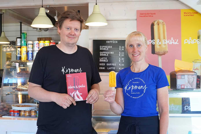 Kahvila-ravintola Köpmansin paletat palauttavat kesän kielelle