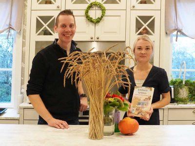 Birkkala Farm from Salo growing organic spelt, won the Organic Farm of the Year Award
