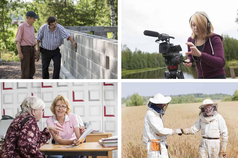 Varsinais-Suomen Leader-hankkeissa ollaan tehty tällä kaudella jo yli  100 000 tuntia vapaaehtoistyötä